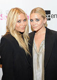 Mary-Kate and Ashley Olsen showed off their blond locks on the pink carpet.