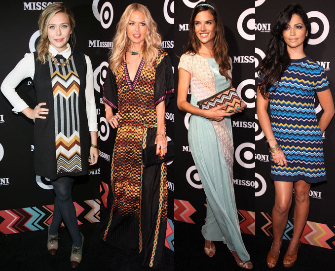 Rachel Zoe Joins a Fashionable Crowd to Celebrate Missoni For Target