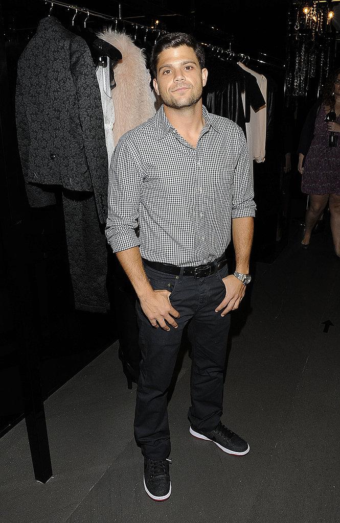 Jerry Ferrara at Dolce & Gabbana.