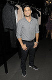 Jerry Ferrara on Fashion's Night Out.