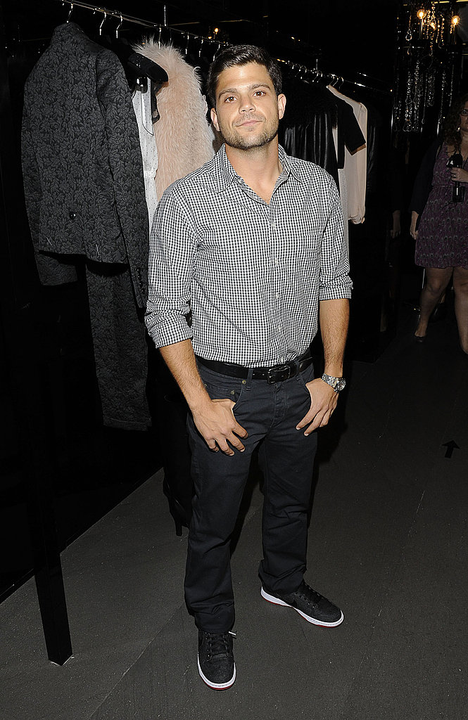 Jerry Ferrara went out on Fashion's Night Out.