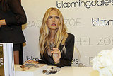 Rachel Zoe signed autographs on Fashion's Night Out.