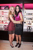 Adriana Lima and Erin Heatherton at the Victoria's Secret Fashion's Night Out event at Victoria's Secret, SoHo.