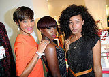 Selita Ebanks with friends.