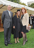 Prince Andrew and Sarah Ferguson celebrate Beatrice's graduation.