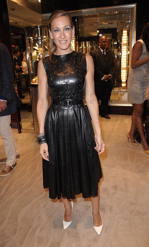 Sarah Jessica Parker attended Fred Leighton's Fashion Night Out party.