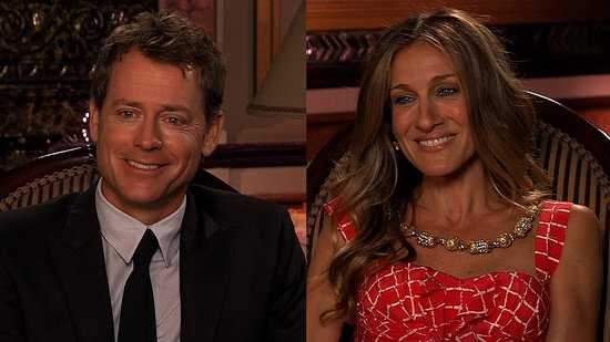 SJP and Greg Kinnear Suggest an I Don't Know How She Does It Drinking Game!