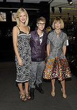 Anna Wintour, Brooklyn Decker and Justin Bieber hung out on Fashion's Night Out.