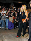 Gwyneth Paltrow leaves Coach's Fashion's Night Out.