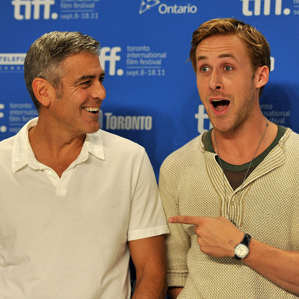 George Clooney and Ryan Gosling TIFF Ides of March Pictures