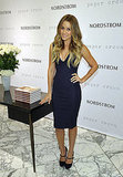 Lauren Conrad got ready for her book signing.