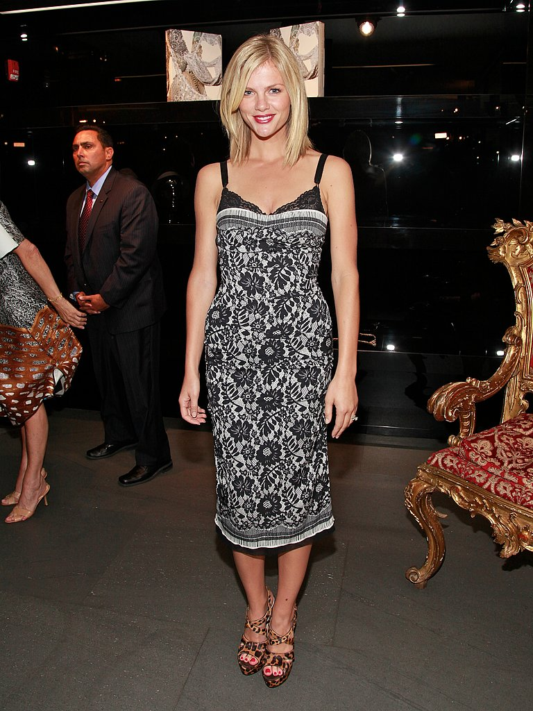 Brooklyn Decker at Dolce and Gabbana on Fashion's Night Out.