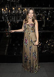 Sophia Bush during Fashion Week.