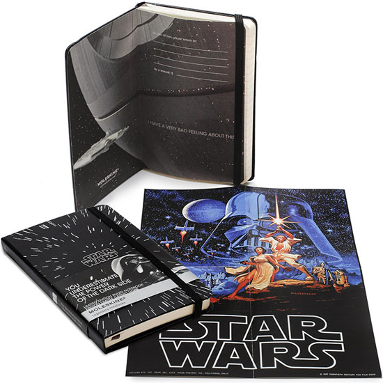 Star Wars Moleskines Land in Our Galaxy