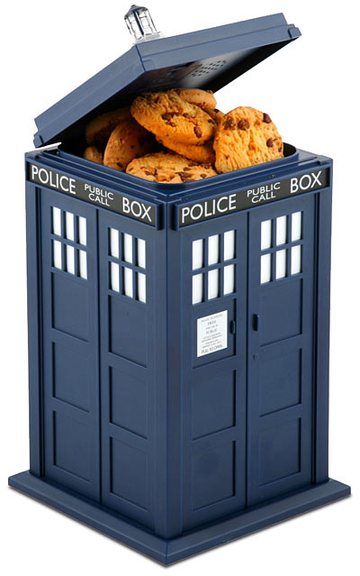 TARDIS Talking Cookie Jar ($27)