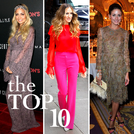 Fab's Top 10 Celebrity Looks of the Week — Nicole, Sarah Jessica, Olivia, and More!