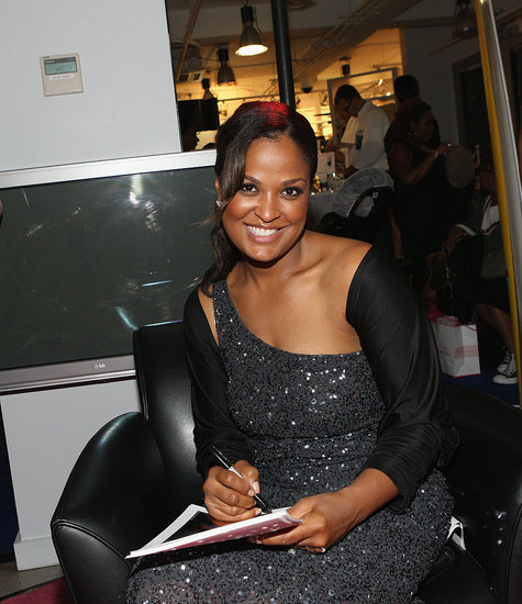 Laila Ali signed autographs for fans who attended the FNO celebration at Destination Maternity.