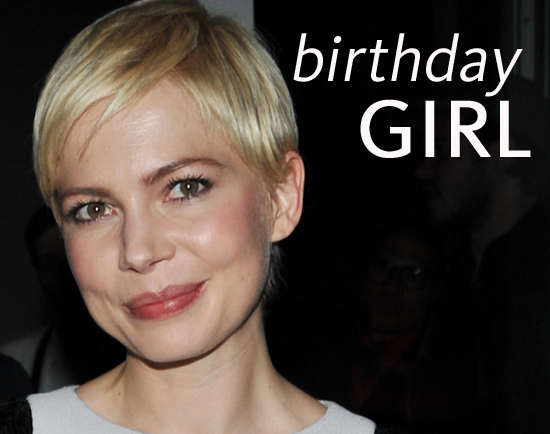 Beauty Retrospective as Michelle Williams Turns 31!