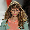 Jill Stuart Spring 2012: Bohemian Hair and Makeup