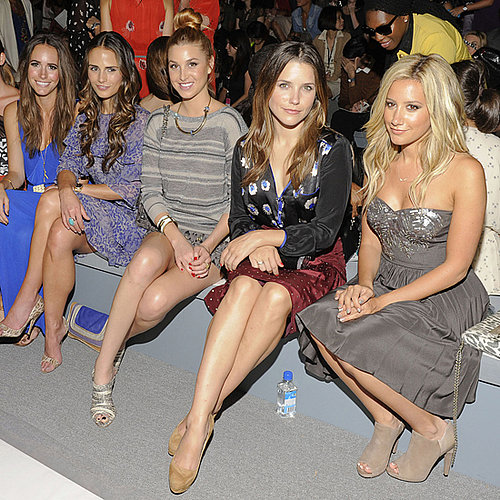 Celebrities at New York Spring 2012 Fashion Week