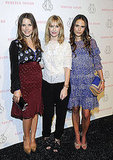 Sophia Bush and Jordana Brewster join Rebecca Taylor at the designer's show.