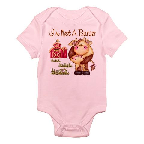 I'm Not a Burger Infant Bodysuit ($21)