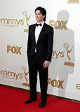 Ian Somerhalder Looks Dark and Sexy at the Emmy Awards!