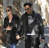 Jennifer Aniston and boyfriend Justin Theroux dress similarly!