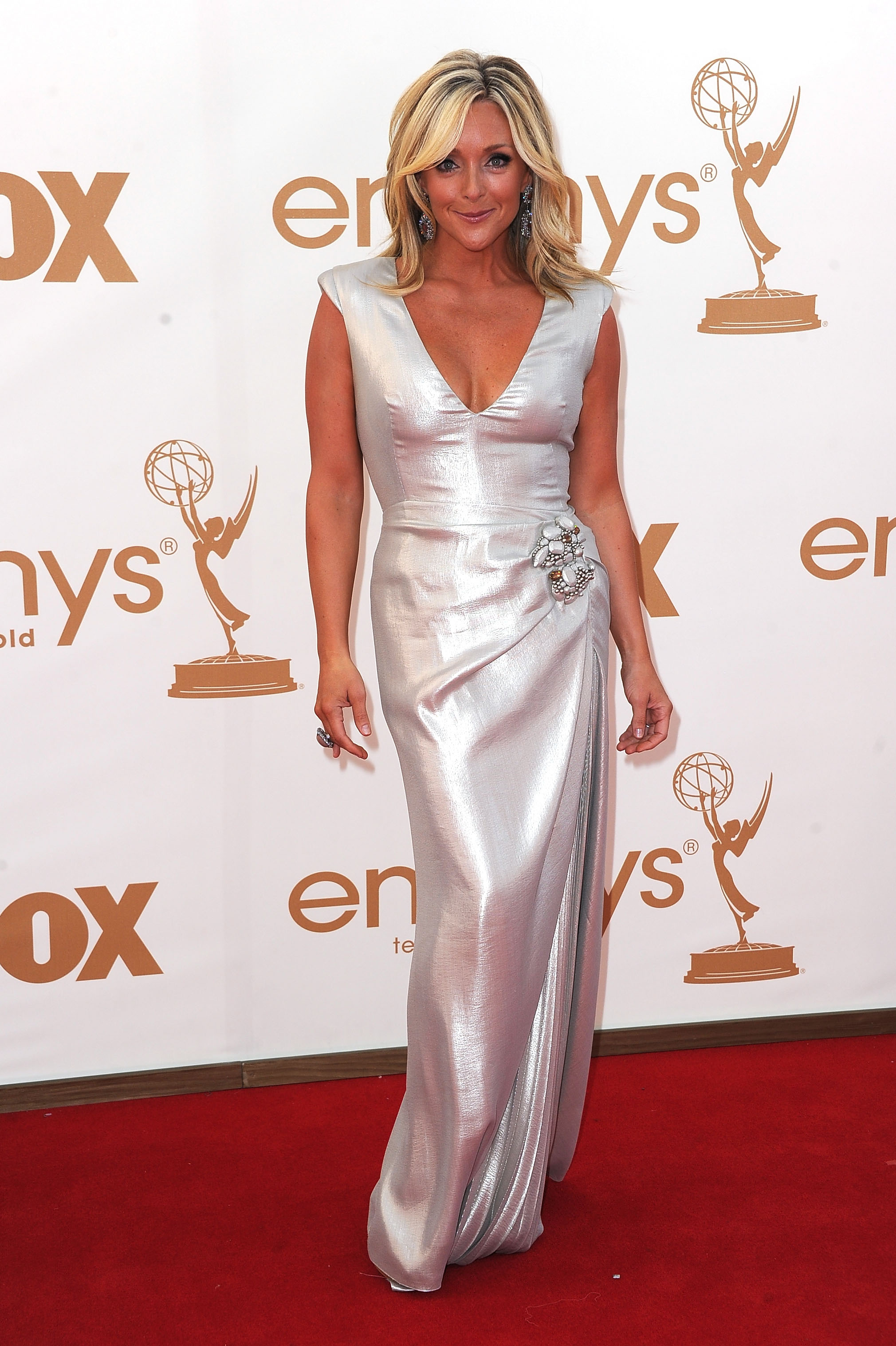 Jane Krakowski at the Emmys.