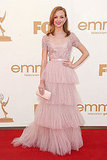 Jayma Mays at the 2011 Emmy Awards.