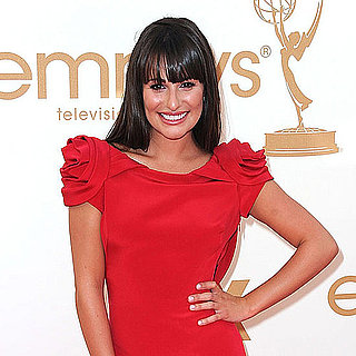 Lea Michele Emmys 2011 Red Carpet Pictures