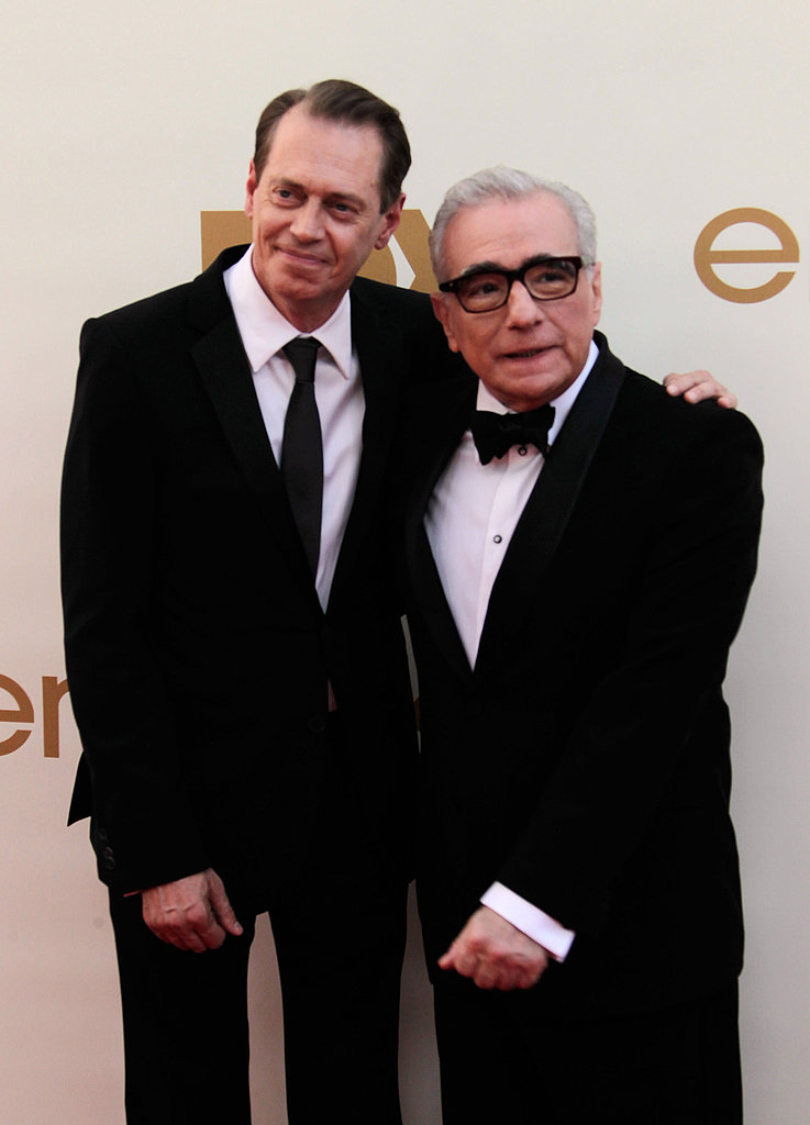 Steve Buscemi and Martin Scorsese
