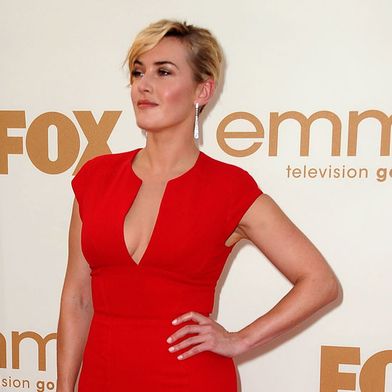 Kate Winslet Makes a Red Hot Emmys Appearance