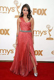 Sarah Hyland Goes Bright in Custom Christian Siriano at the Emmys