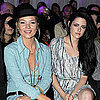 Kristen Stewart and Kate Moss London Fashion Week Pictures