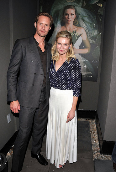 Alexander Skarsgard and Kirsten Dunst Make a Cute Costar Couple at TIFF