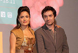 Salma Hayek and her costar Matthieu Demy stuck close before their TIFF premiere.