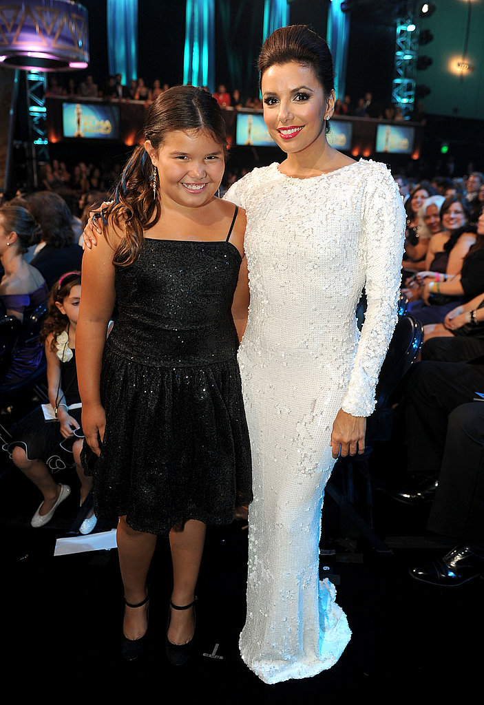 Madison De La Garza at the ALMA Awards.