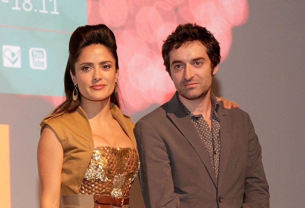 Salma joined Mathieu Demy in Toronto at the premiere of Americano.