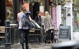Kate Hudson and Matt Bellamy check out a London pub.