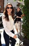 Jessica Biel at the Windsor Hotel in Toronto.