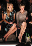 Renée Zellweger front row at Carolina Herrera.