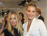 Rachel Zoe and Molly Sims in NYC during Fashion Week.