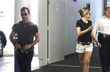 Jennifer Aniston gets picked up by Justin Theroux.
