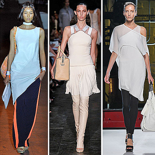 Spring 2012 Fashion Week Trends: Dresses Over Pants