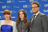 Bryce Dallas Howard, Anna Kendrick, and Seth Rogen at the Toronto Film Festival.