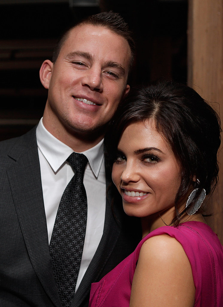 Channing Tatum and Jenna Dewan prepartied at Soho House.