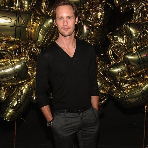 Alexander Skarsgard Pictures During Fashion Week With Kardashians