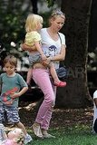 Naomi Watts Hits the Park With Her Adorable Blond Boys