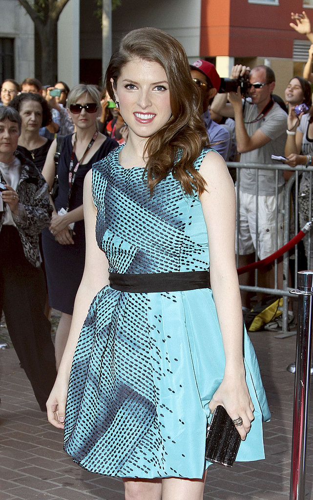 Anna Kendrick arrived to the 50/50 premiere.
